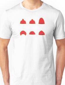 Hats of Team Zissou Unisex T-Shirt