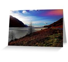 Wastwater in Wasdale Greeting Card