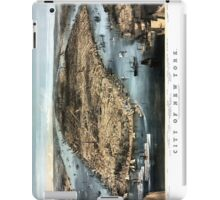 New York - 1856 iPad Case/Skin