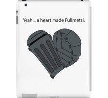Fullmetal Heart & Quote iPad Case/Skin