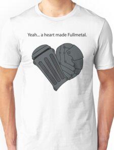 Fullmetal Heart & Quote Unisex T-Shirt