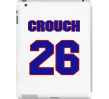National baseball player Bill Crouch jersey 26 iPad Case/Skin