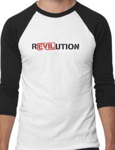 Evil Revolution Men's Baseball ¾ T-Shirt