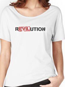 Evil Revolution Women's Relaxed Fit T-Shirt