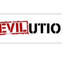 Evil Revolution Sticker