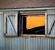 Reflected Sunset Sky by Martin Pot