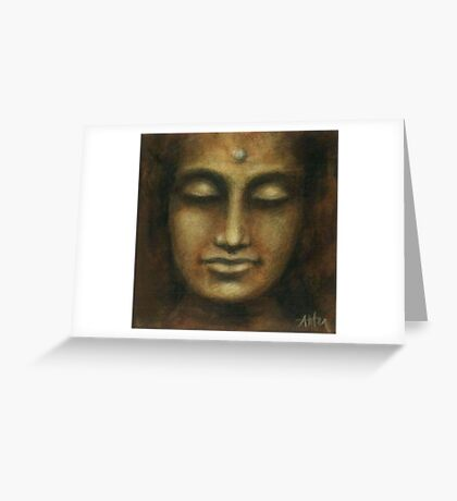 Buddha I Greeting Card