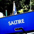 Saltire by AndrewBlackie