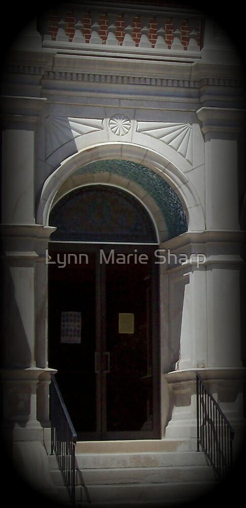 The Door Will Be Opened by Marie Sharp