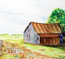 Meadow Shed by Jack G Brauer