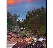 Creek III by Kirk  Hille