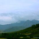Snowdon in the Mist by Trevor Kersley