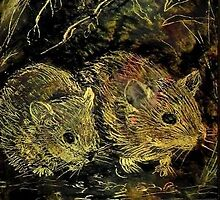 Two Hamsters by Antea