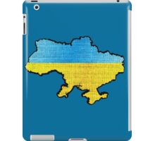 Ukraine Flag Map iPad Case/Skin
