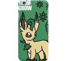PKMN Let It Grow iPhone Case/Skin