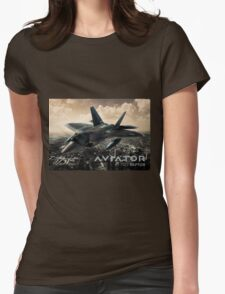 F-22 Raptor Fighter Jet Womens Fitted T-Shirt