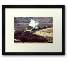 Through the Valley Framed Print