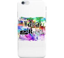 Weird Grrrl iPhone Case/Skin