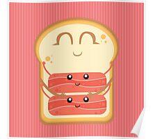 Hug the Bacon Poster