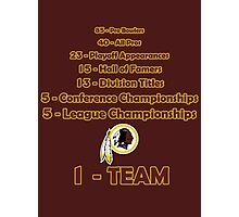 Washington Redskins History Photographic Print
