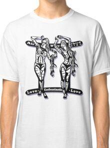 Gemini star sign Classic T-Shirt