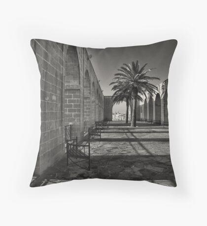 Lower Barrakka Throw Pillow