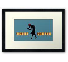 Detective Carter. Framed Print