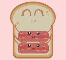Hug the Bacon One Piece - Long Sleeve
