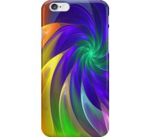 Colour Swing, fratal abstract iPhone Case/Skin