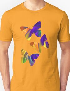 Colour Swing, fratal abstract Unisex T-Shirt