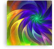 Colour Swing, fratal abstract Canvas Print