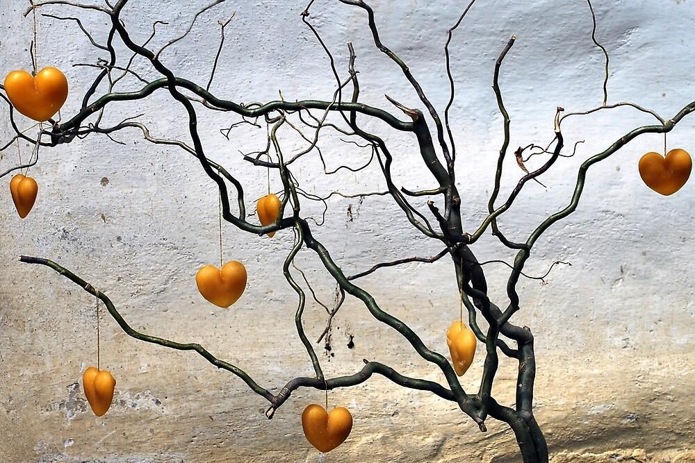 Heart-tree by Arie Koene