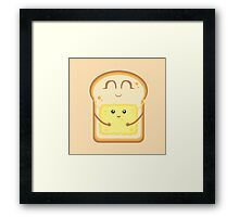 Hug the Butter Framed Print