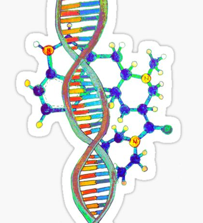 lsd lsd dna dna Sticker
