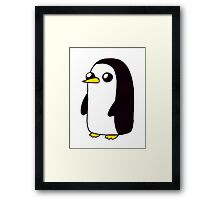 Gunter the Penguin. Framed Print