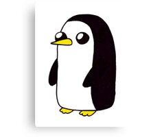 Gunter the Penguin. Canvas Print