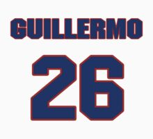 National baseball player Guillermo Quiroz jersey 26 by imsport
