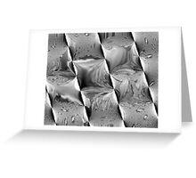 Metal Waves Greeting Card