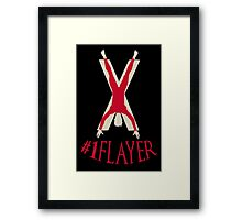 Number 1 Flayer Framed Print