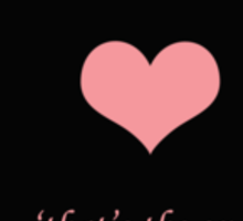 Heart Whispers Sticker
