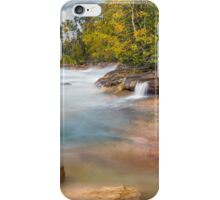 Pictured Rocks Surf iPhone Case/Skin
