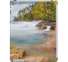 Pictured Rocks Surf iPad Case/Skin