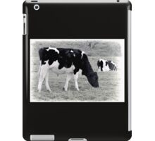 Black And White Cows....... iPad Case/Skin