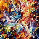 Burning Flight — Buy Now Link - www.etsy.com/listing/210285779 by Leonid  Afremov