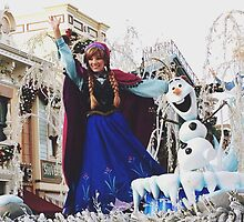 Disney's Anna From Frozen  by whitneymicaela