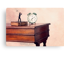 The morning ringer Canvas Print