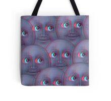 Moon Emoji - Fuzzy Tote Bag
