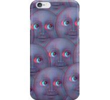 Moon Emoji - Fuzzy iPhone Case/Skin