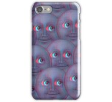 Moon Emoji - Fuzzy iPhone Case/Skin