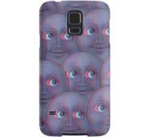 Moon Emoji - Fuzzy Samsung Galaxy Case/Skin